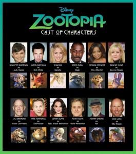 voix de doublage des animaux du film Zootopie zootopiep3-265x300